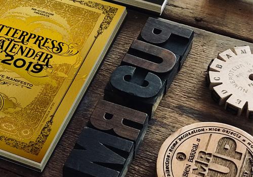 Drukkerij Bartels letterpress foliedruk